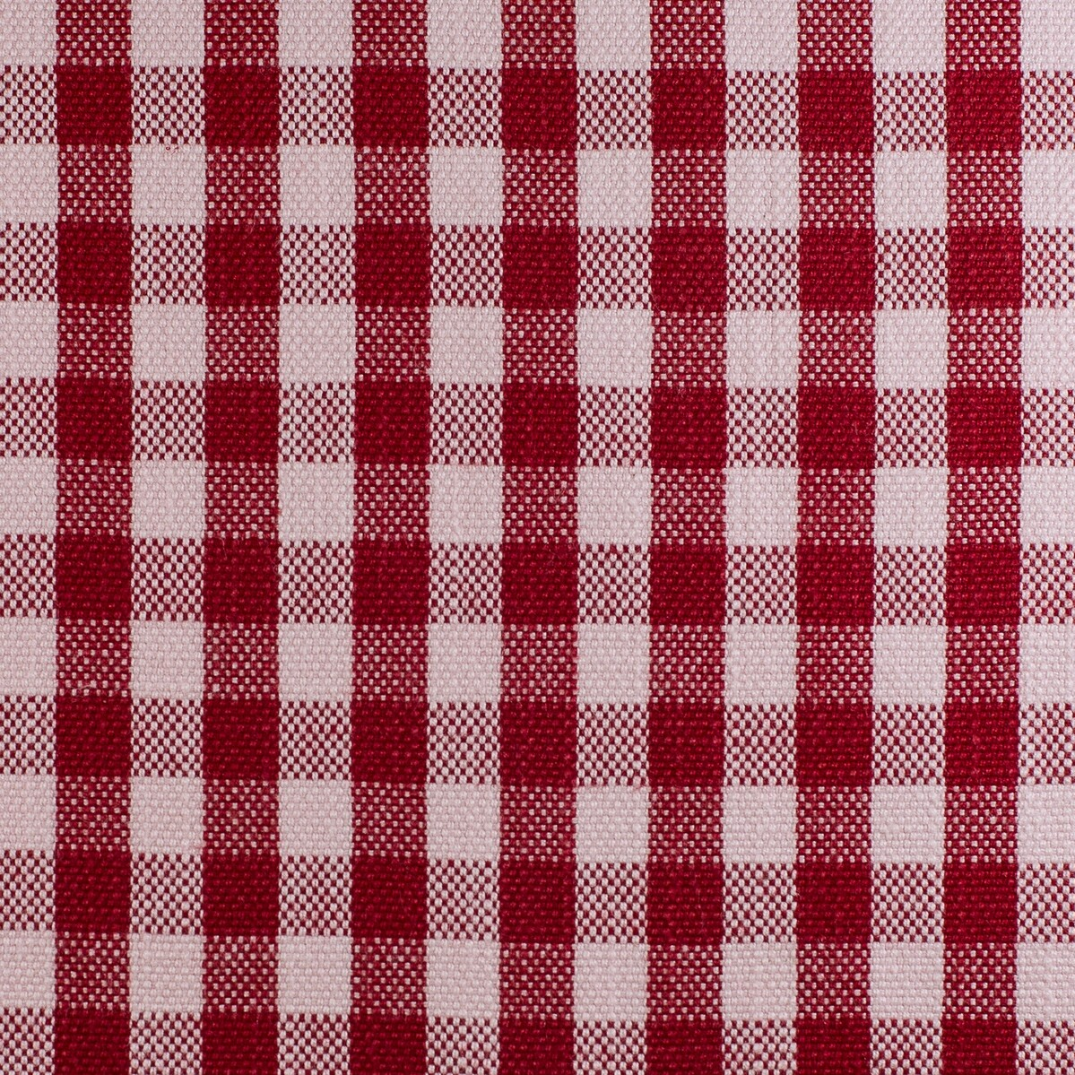 Lobster Red Check Print